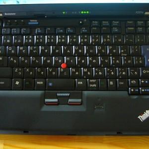 いかにも ThinkPad なキーボード。