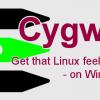 Cygwin 1.5 のインストールと初期設定