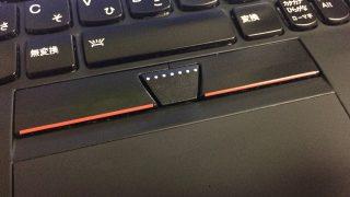ThinkPad X1 Carbon (2012) の TrackPoint のセンターボタンを修理した